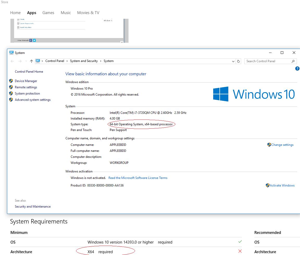 Unable to download Desktop App Converter from Windows 10
